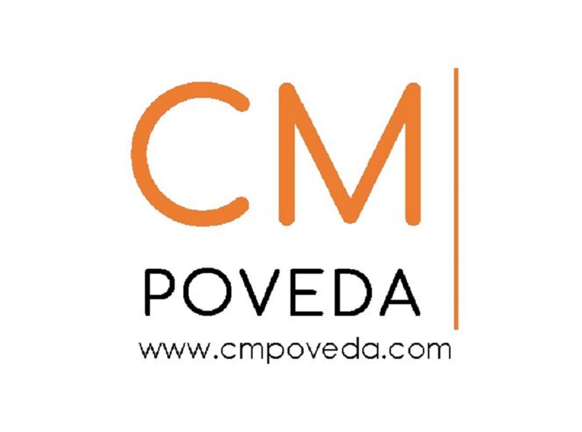 Logotipo CM Poveda | Asesoramiento fiscal